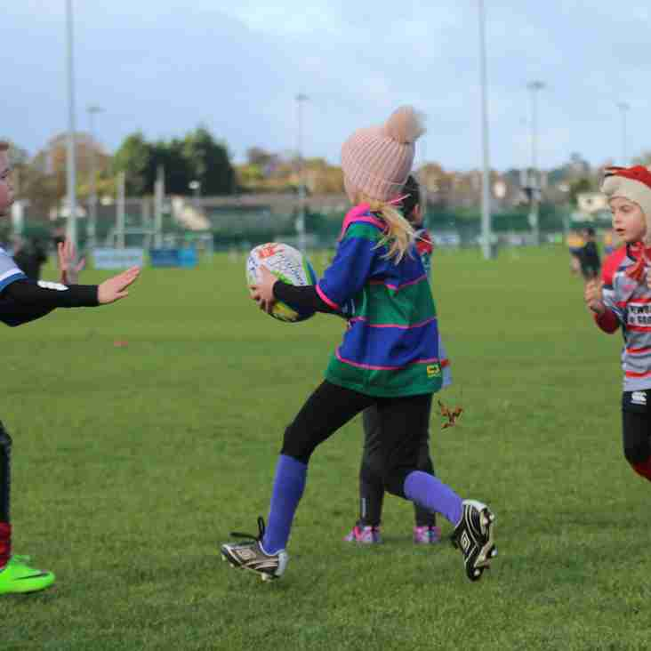 Seapoint U8s/U10s Girls v's Mullingar