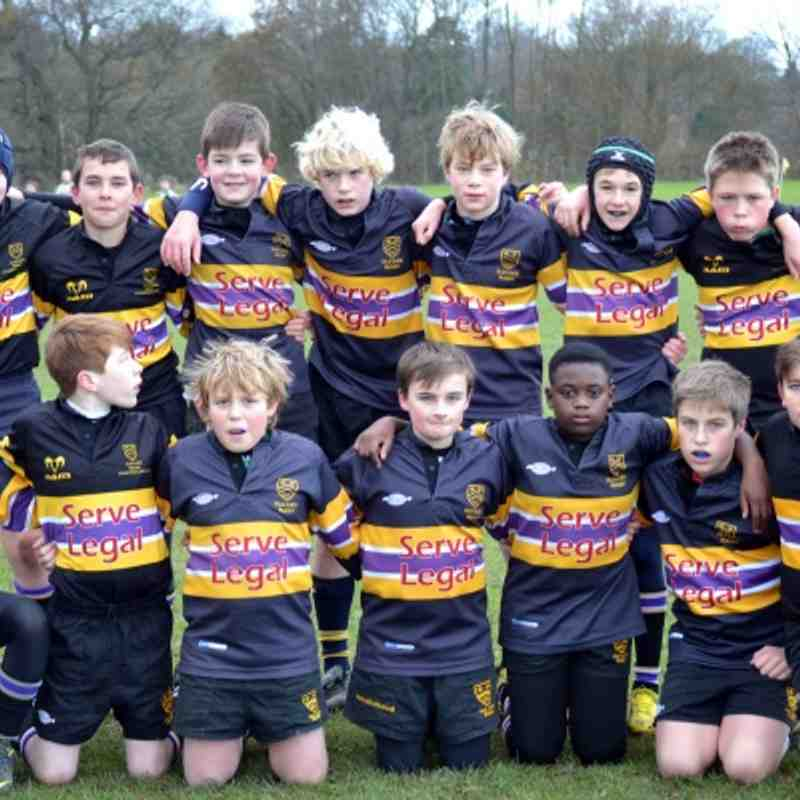 Cats U12 v Cowbridge 9th December 2012  (Buxton)
