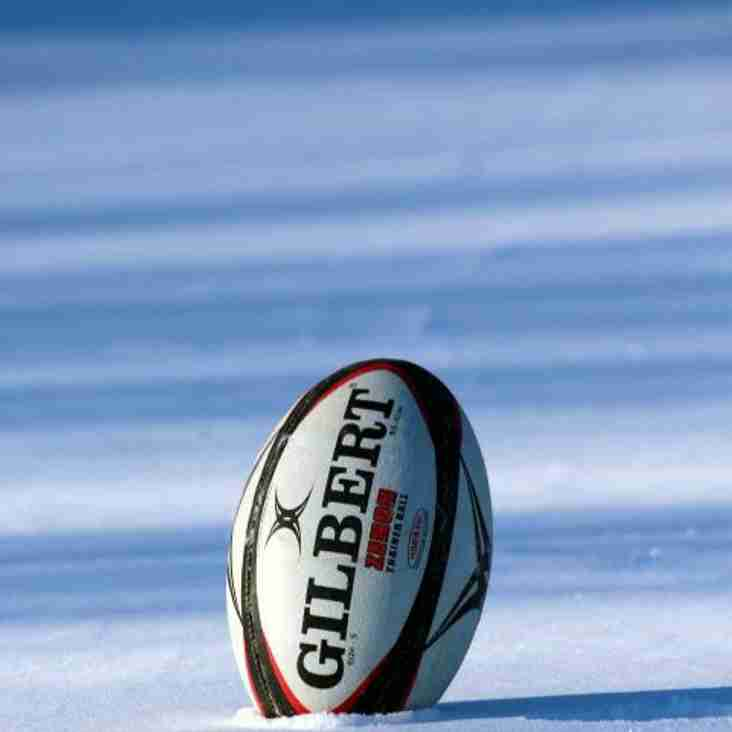 Sunday 4 March ALL Rugby at Cats is CANCELLED