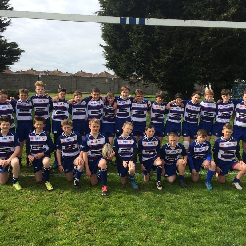 Under 14s beat Nailsea & Backwell RFC 22 - 10