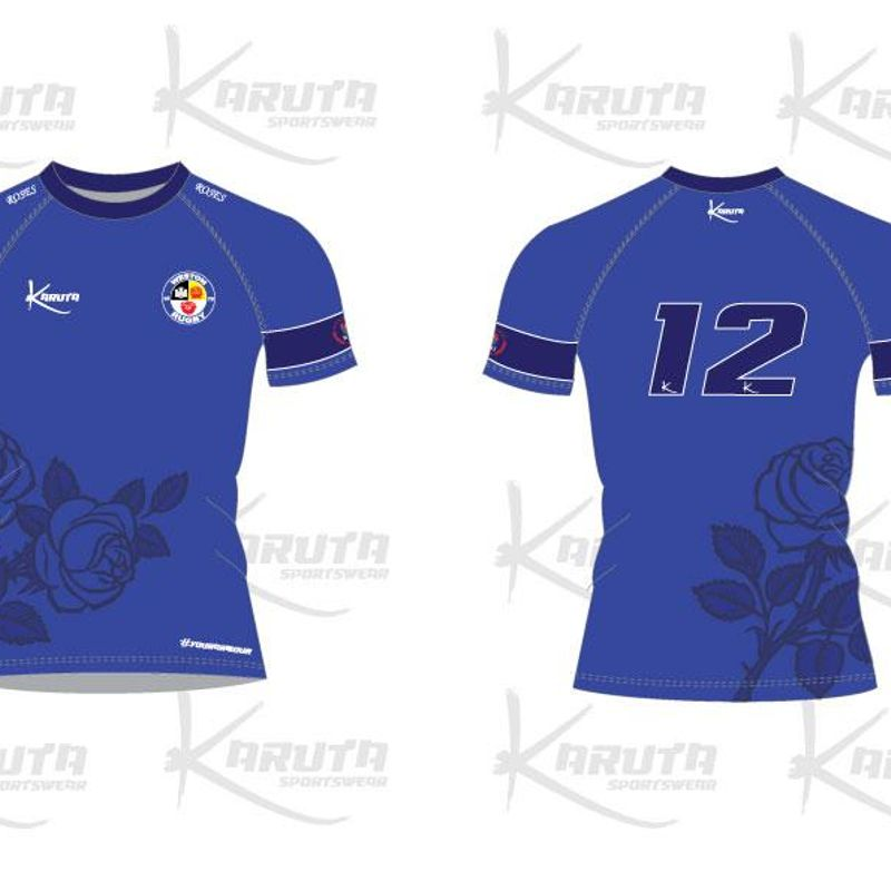 Preview of the Karuta 'Weston Roses' Girls/Ladies Shirt