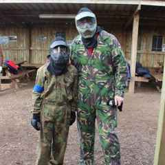 March 2016 'Paint Balling' Exmouth