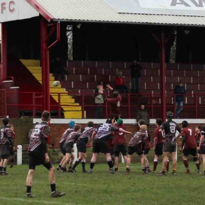 Morley U16's vs Old Rishworthians