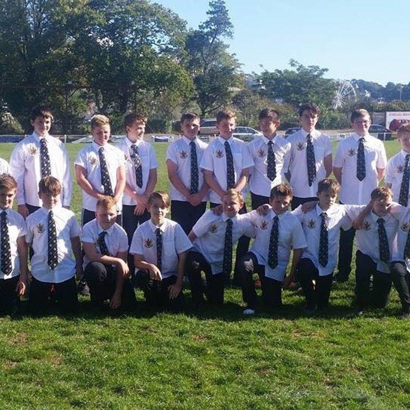 Under 13s beat Devonport RFC 10 - 45