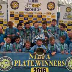 NIBFA plate win for under 11s