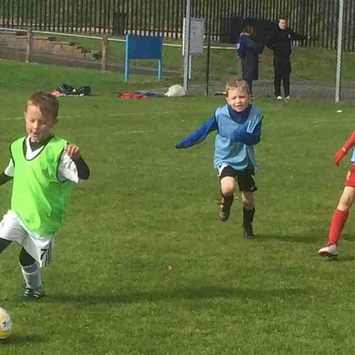 Mini soccer midweek sessions