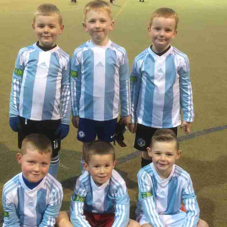 Mini soccer boys continue to impress