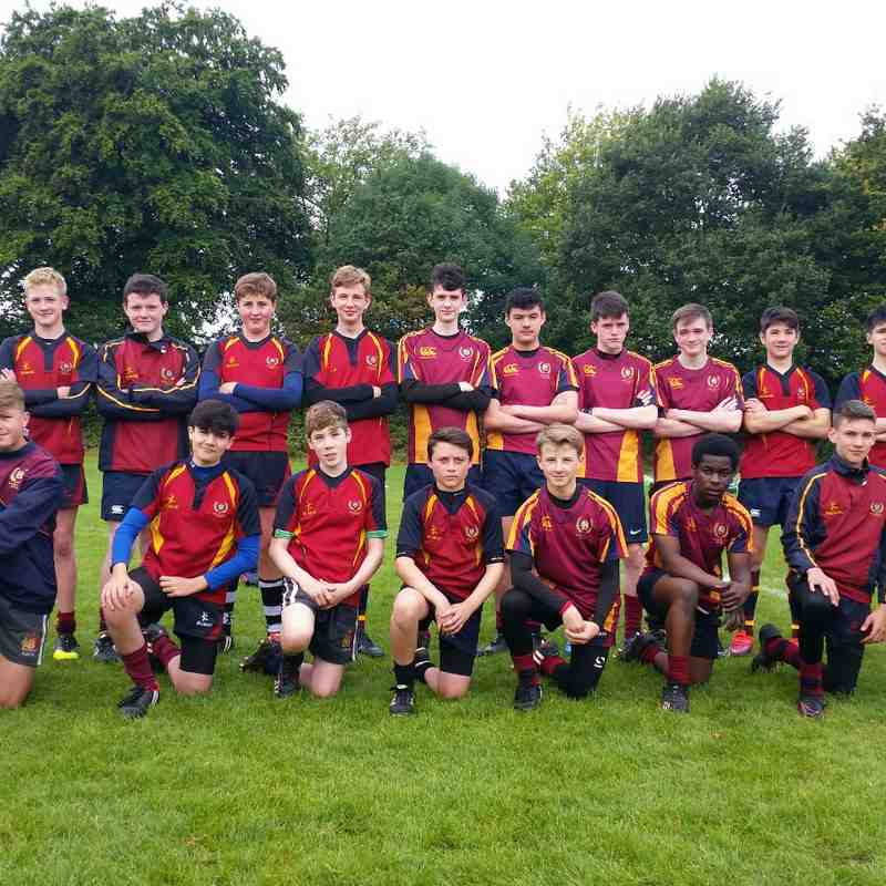 BRFC u15s 2017-18 team photos