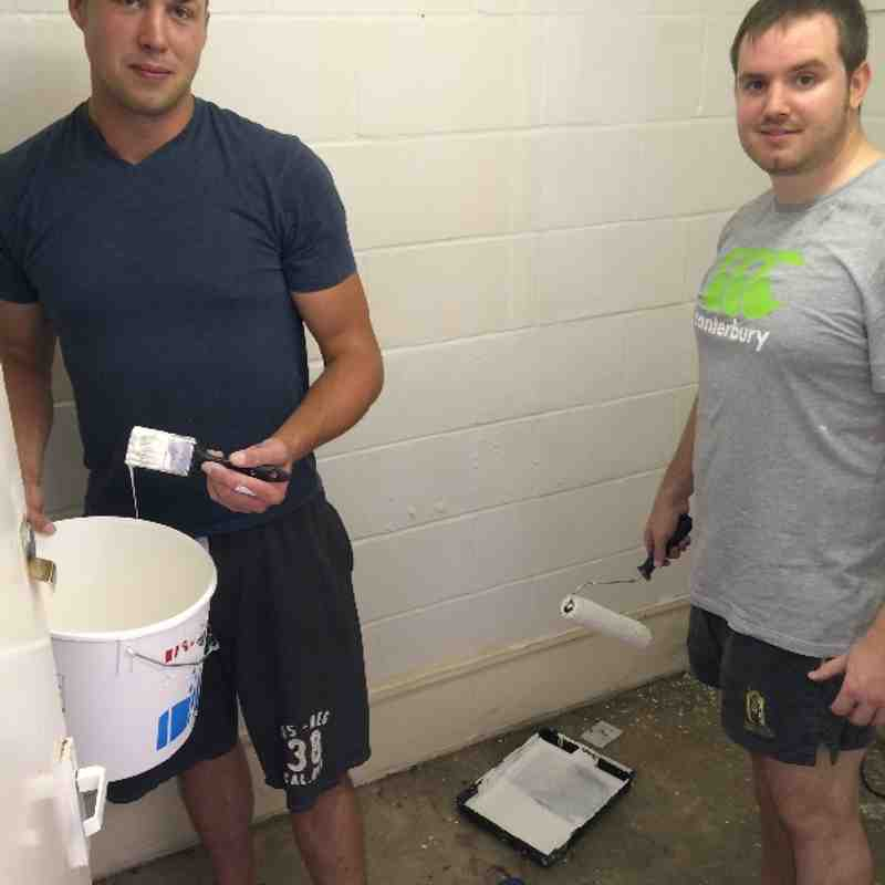 WRFC Painting Day
