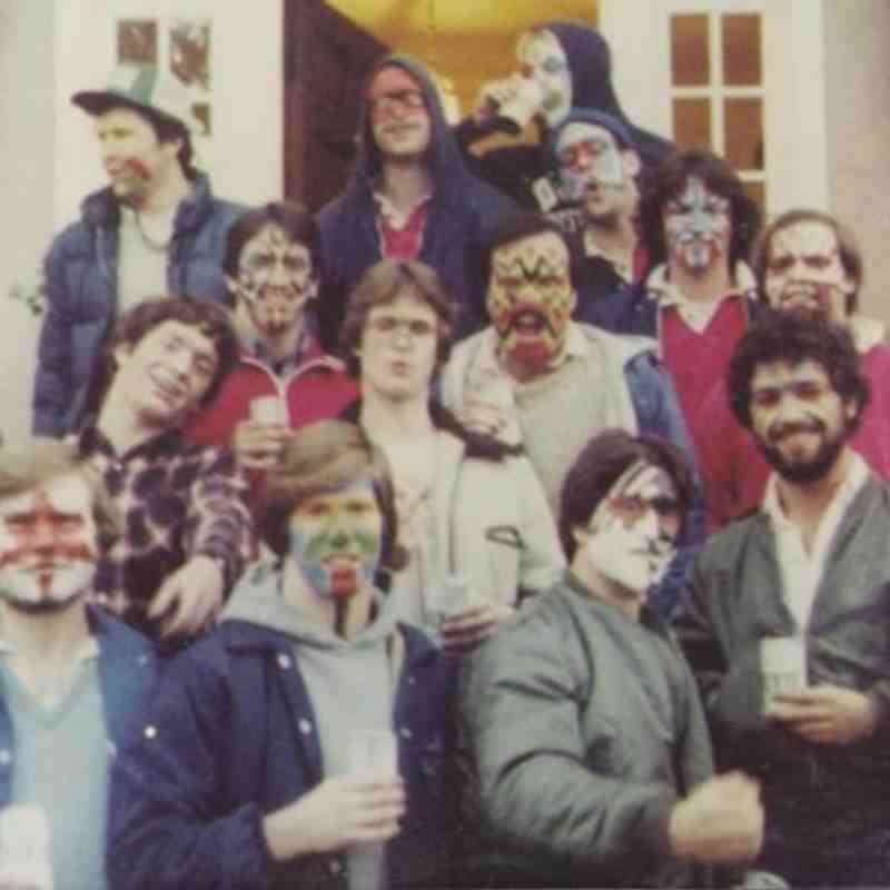 Mardi Gras 1980: Ace, Bam Bam, Paulie Bonney, Ed Miller, Nick the Brit, Tony Trost, Alden Philbrick, Mason Lord, George Farber, Rap Man, Jay Borkowski, Randy Minchew