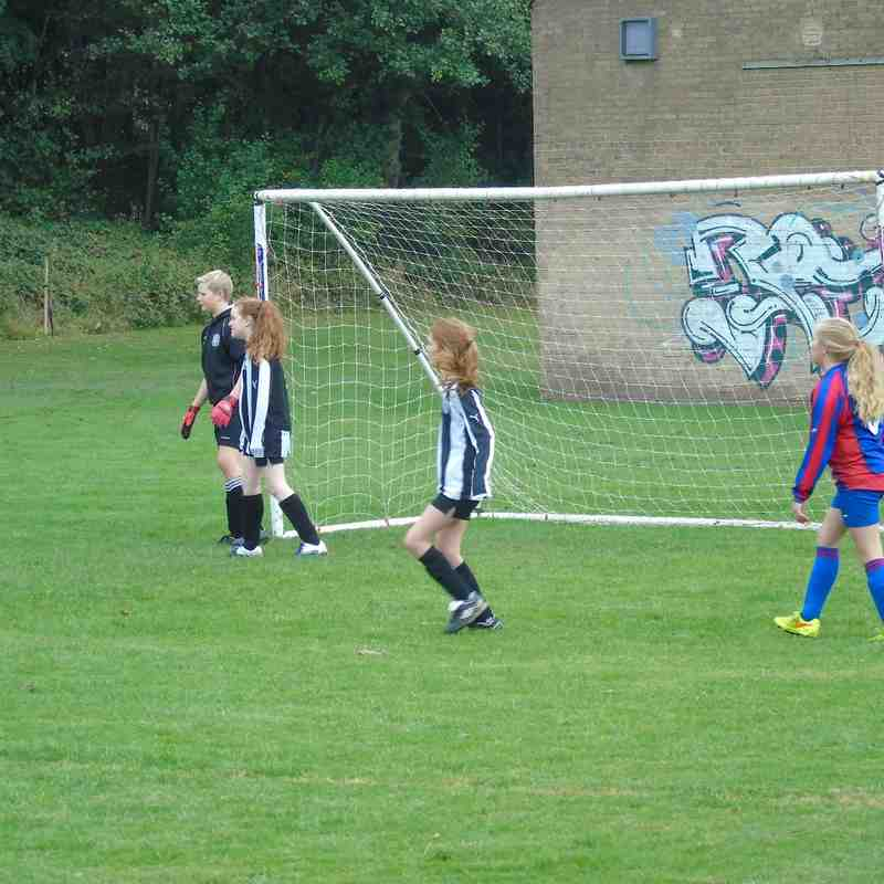 BELLES U12 (9) V HEBDEN BRIDGE (0) AWAY 11-10-15