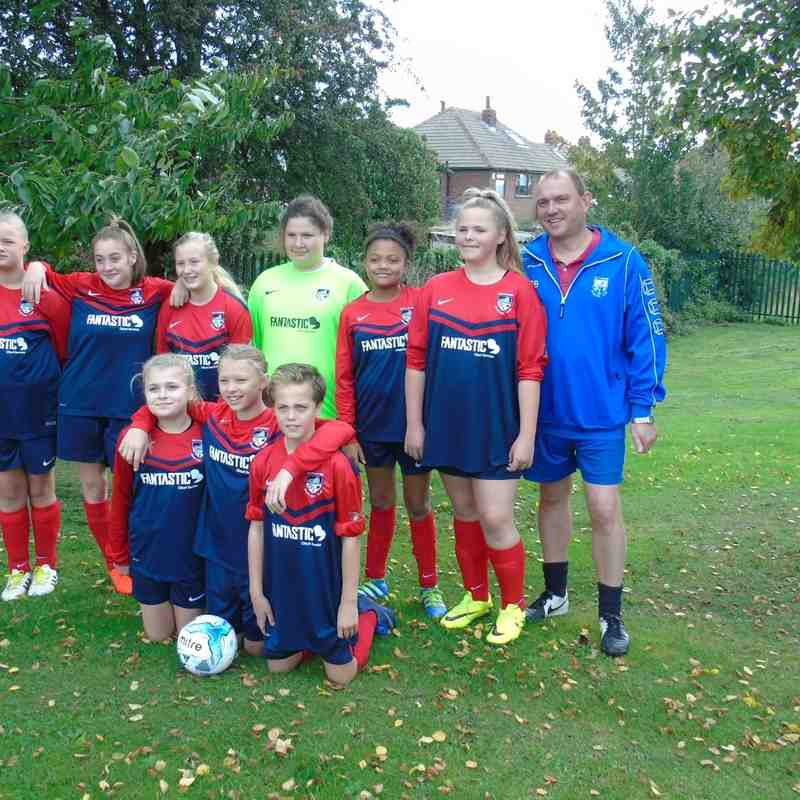 BELLES U13 (1) V GARFORTH U13 (1) AWAY 24-9-16
