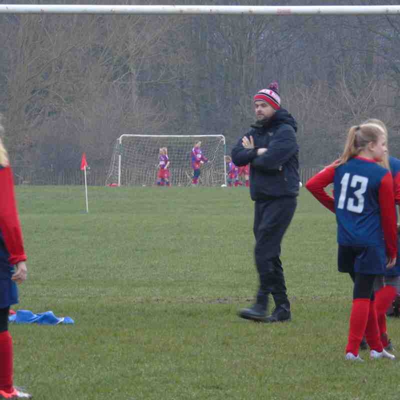 BELLES U13 (1) V GARFORTH BLUE U13 (2) HOME 18-2-17