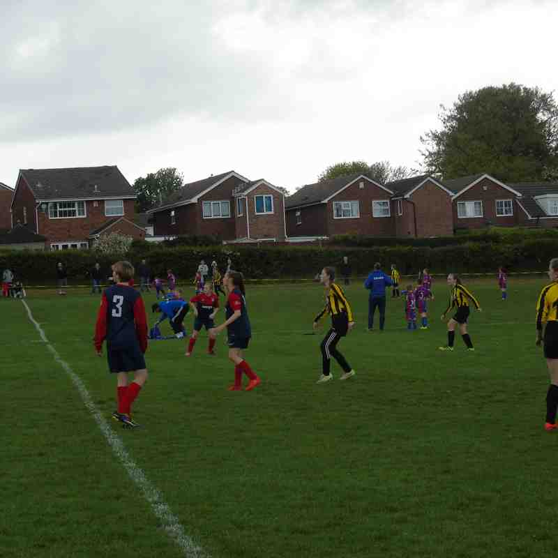 BELLES U13 (1) V NORRISTHORPE U13 (0) CASTLE HALL 13-5-17