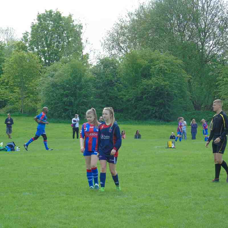 BELLES U14 V GARFORTH U14 (0-2 & 0-3) HOME 12-5-18