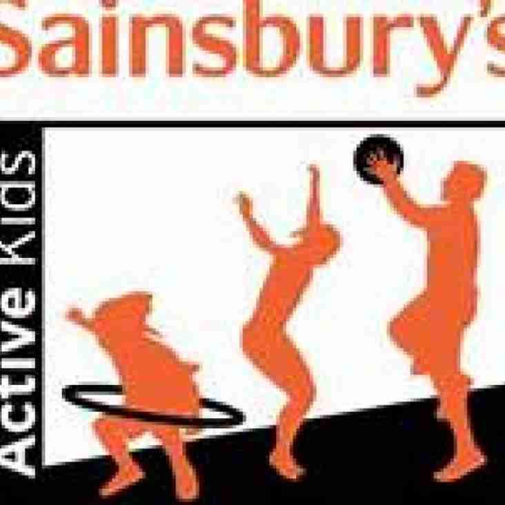 Sainsburys Active Kids Vouchers