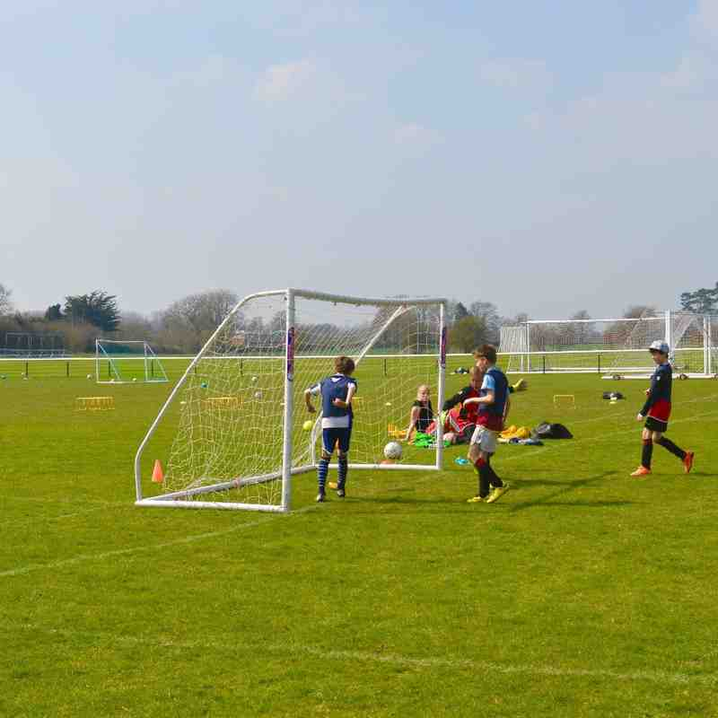Easter Soccer Skills Day - April 2015 - Photos by C-Knights Photography