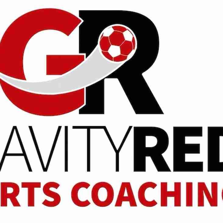 Gravity Red soccer school Saturday