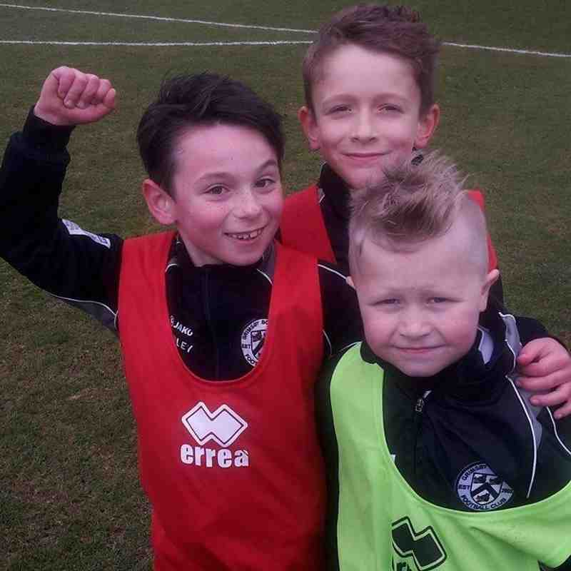 Grimsby Borough Under 8's Colts at Grimsby Town