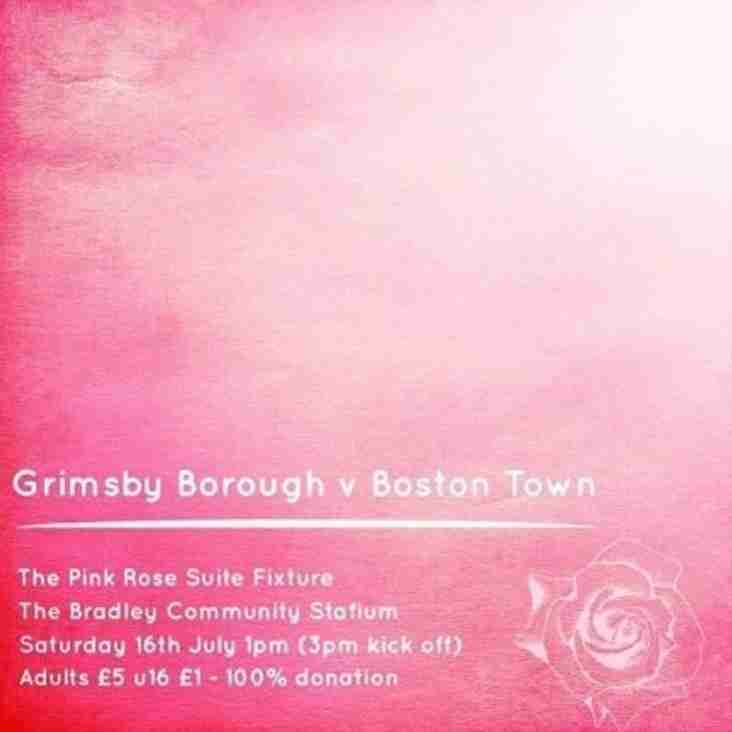 Borough to Face Boston in Pink Rose Suite Fundraiser