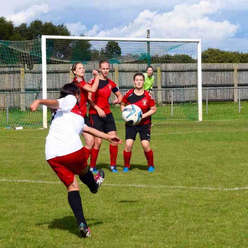 Sleaford Town 4-3 Borough Ladies (Away League) 04.09.16