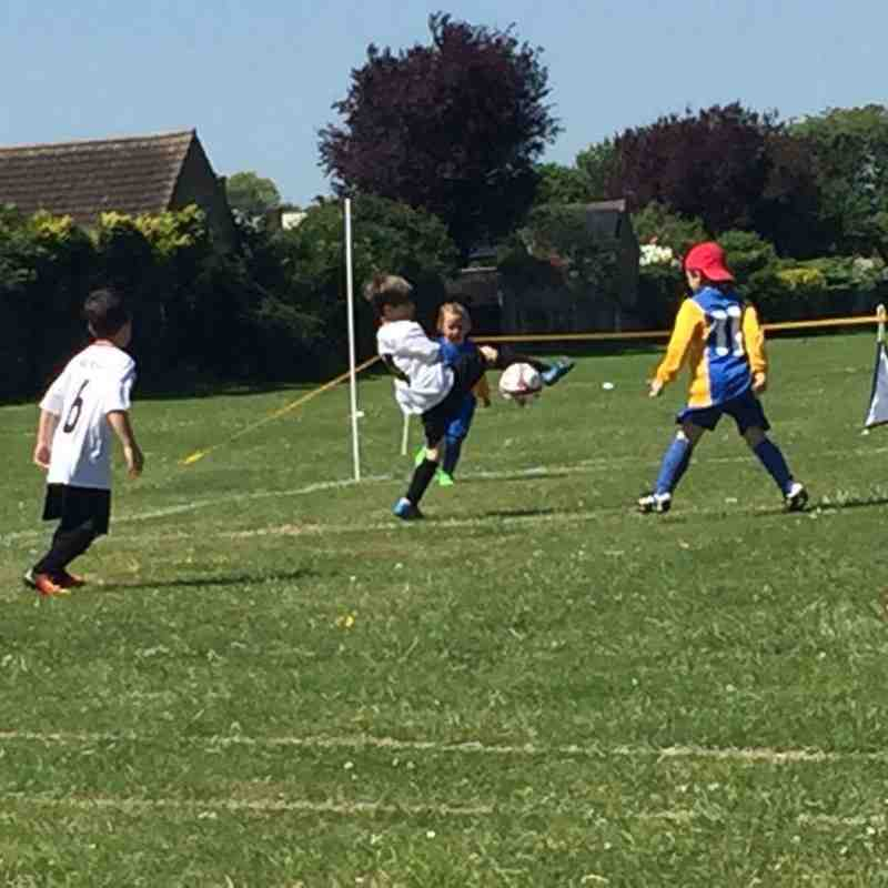 Under 7's at Tournament (June 2017)
