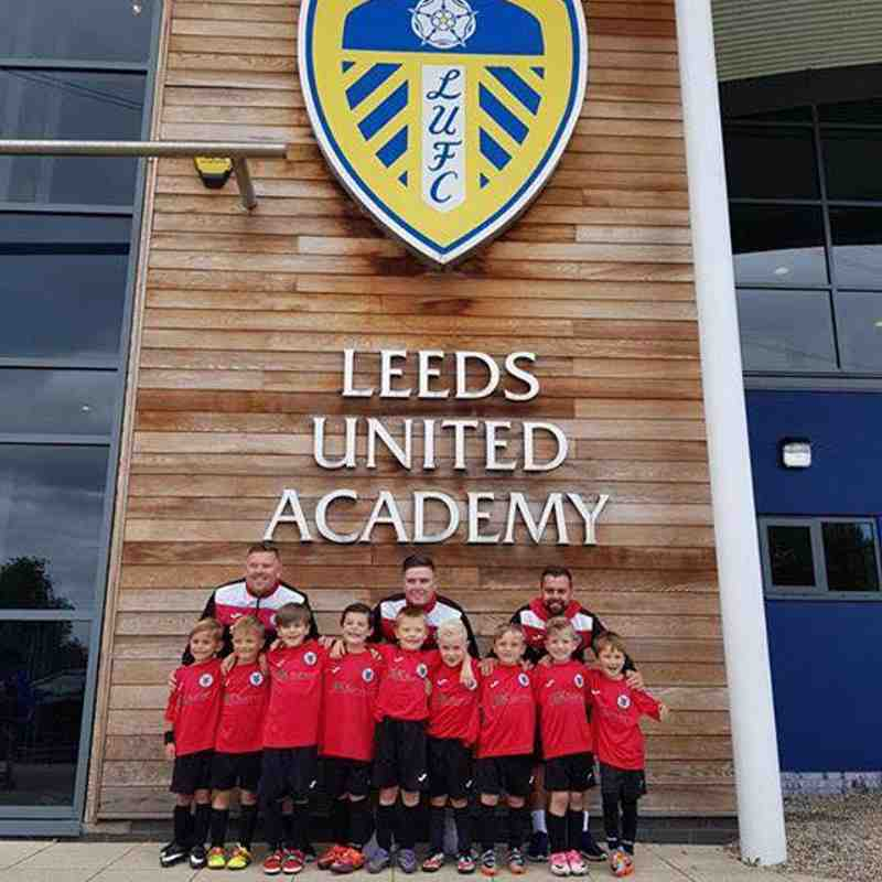 Under 7's visit Leeds United Academy (19/08/17)