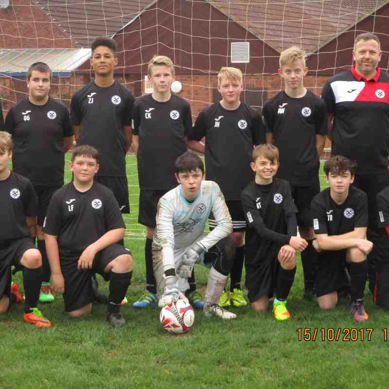 Academy Coaches Visit Under 14 Wil-Lec United