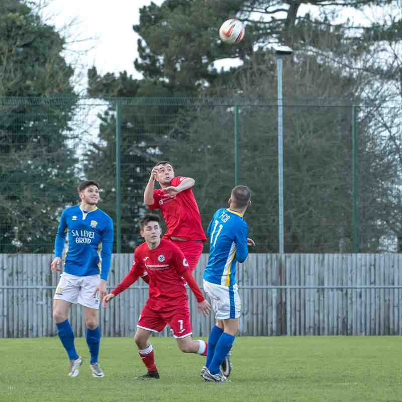 Grimsby Borough 7-1 Boslover (30/12/17) NCEL Division One