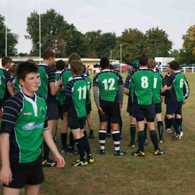 Abbey U16s v Luton