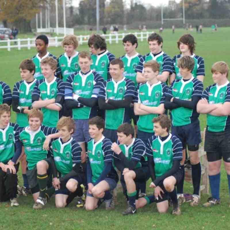 Abbey U16s v Swindon