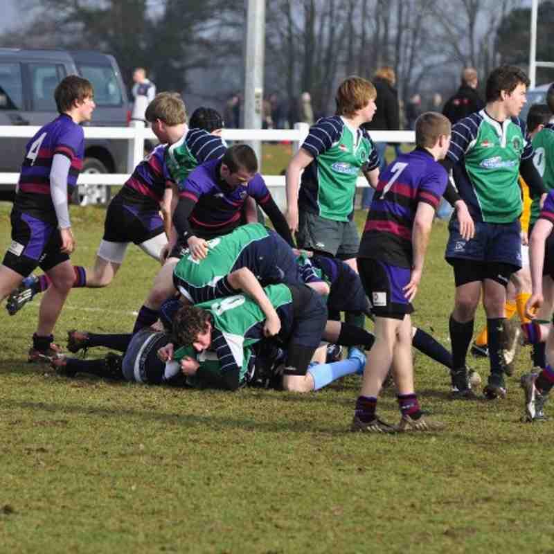 Abbey U16s v Maidenhead Berks League 07/02/10