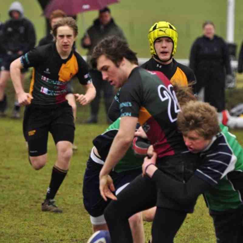 Abbey U16s v Windsor - Berks league