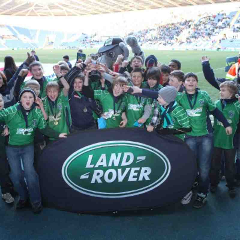 U12s London Irish Land Rover Cup Champions