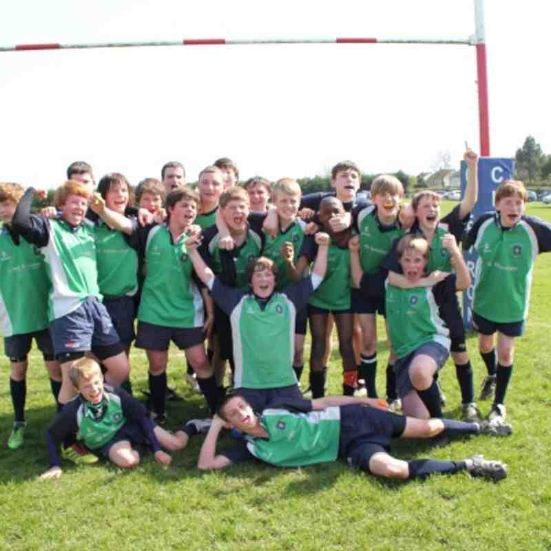 U14s Pembroke Tour 2011