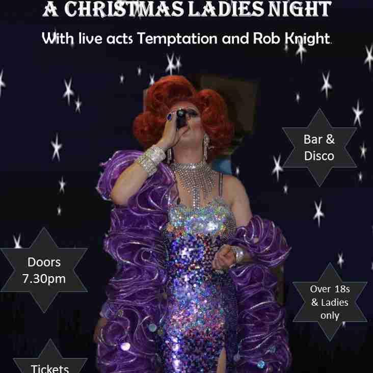 Ladies Night @ Abbey Rugby Club Friday Dec 9th