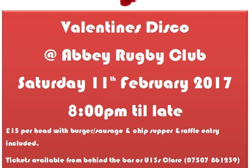 ABBEY Valentines Disco