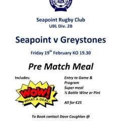 Seapoint v Greystones