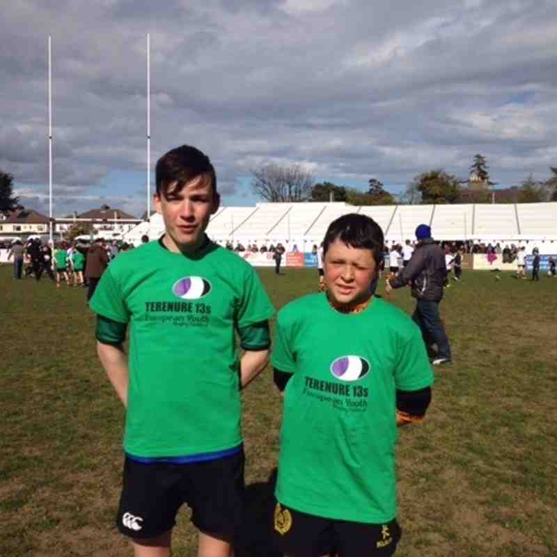 Two Seapoint boys were called up for the Irish Team to play the Uk and Europe Team, Namely James Mc Donnell and Euan Hall. James was the Irish Captain