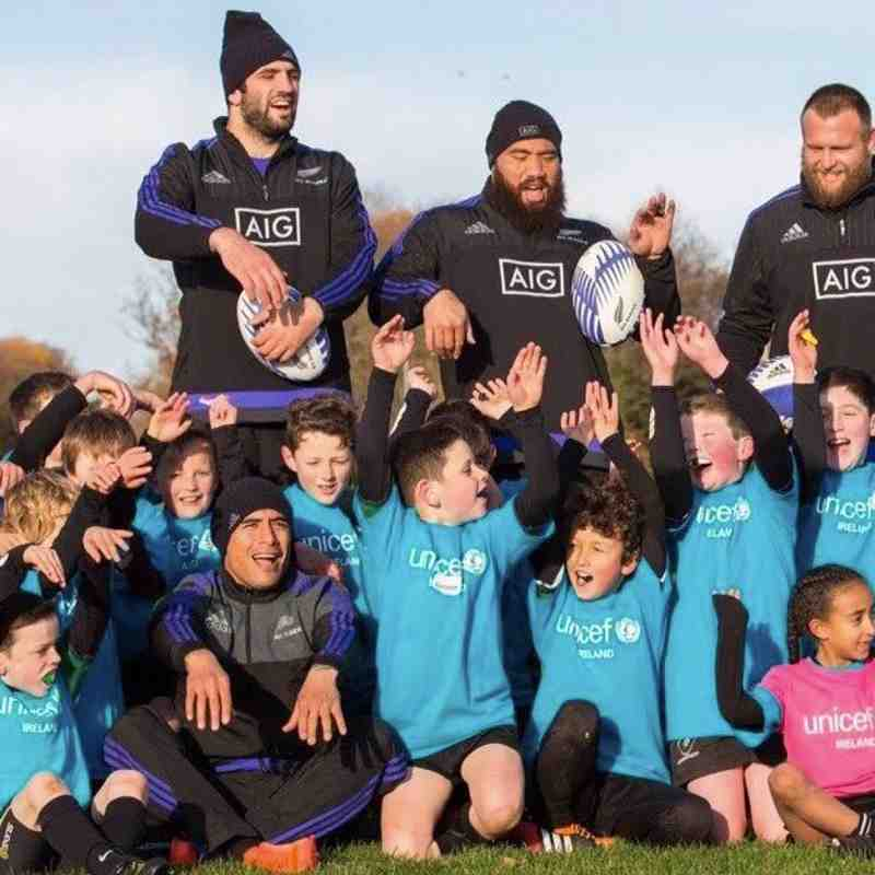 All Blacks Visit