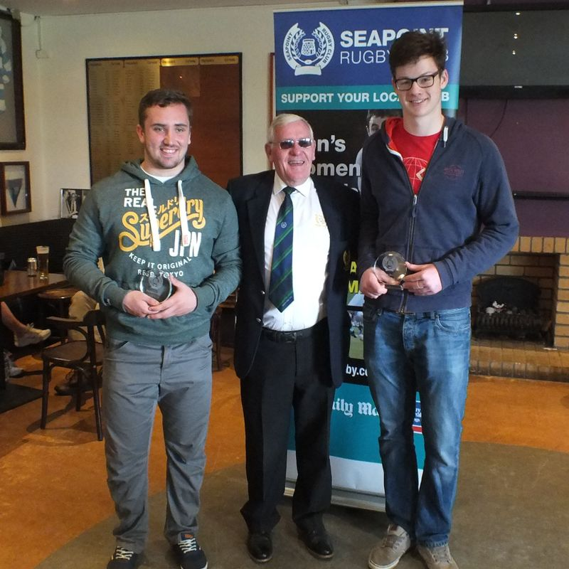 Seapoint Mini & Youth Players called up to Irish U20 v Italy