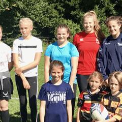 Girls team Sunday 16th September 2018