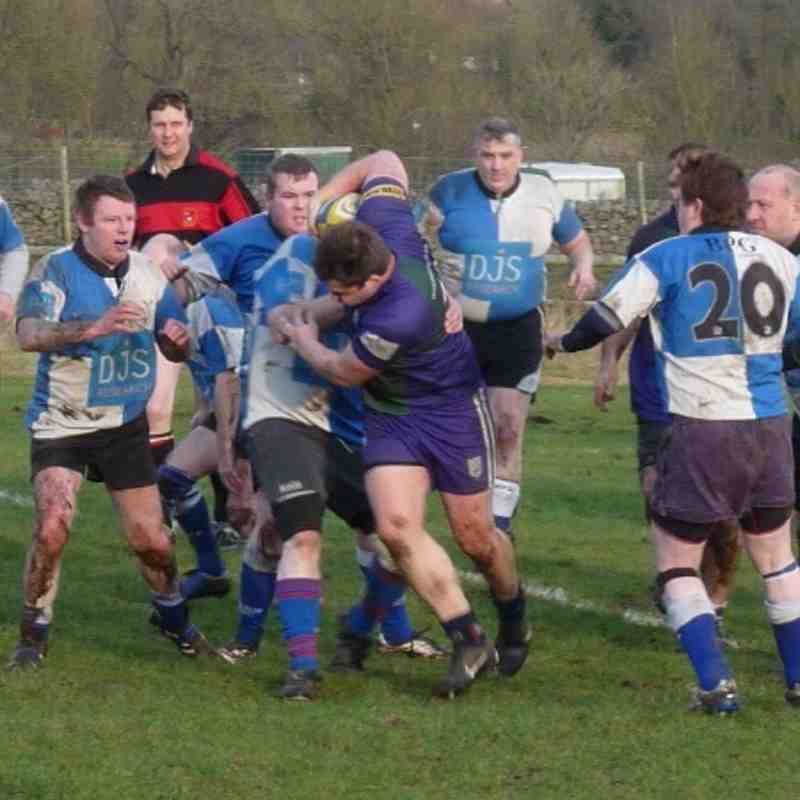 Glossop 3rd XV Vs Hope Valley RFC 1st XV - 2012/13 Jan 13