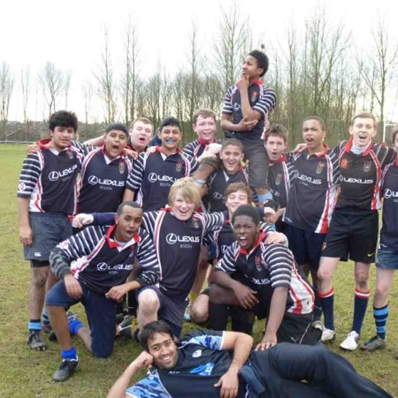 Quater Final Lancashire Cup vs Bolton