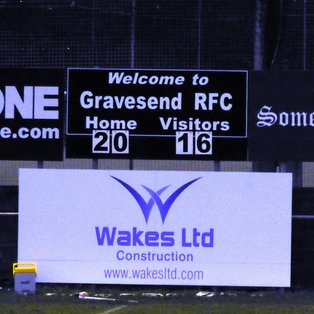 Gravesend forwards earn respect