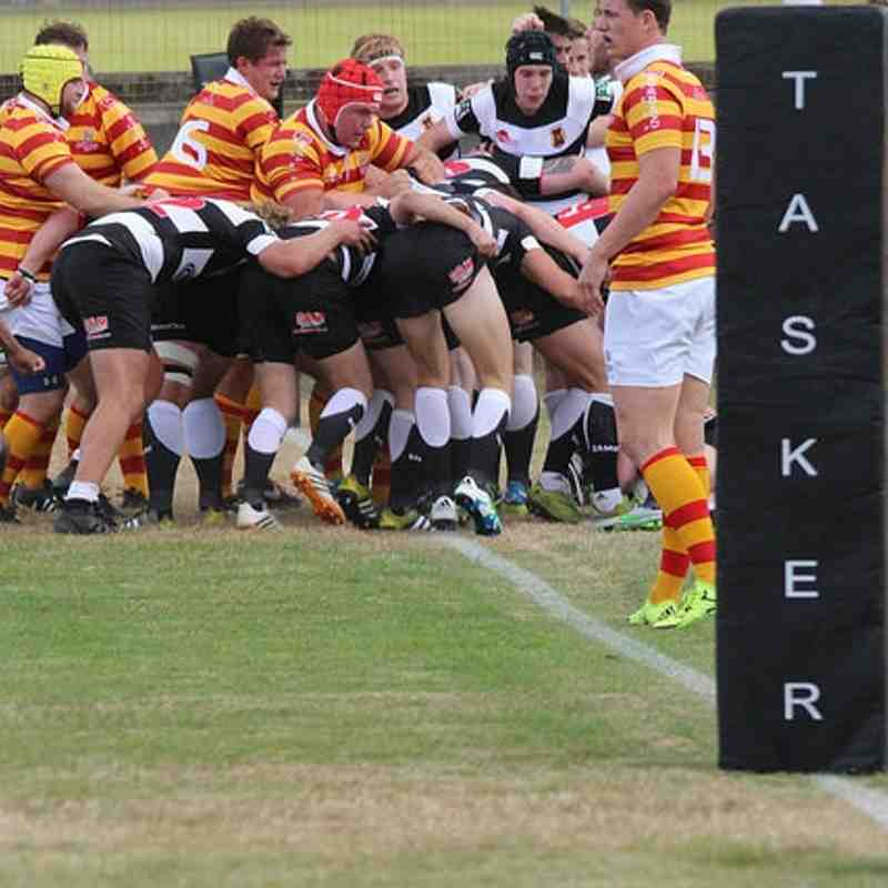 Gloucester Second Row Will James Leads A Charge: Gravesend RFC