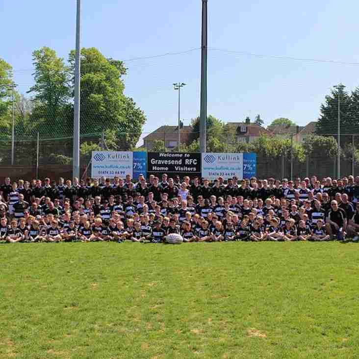 Gravesend RFC Mini and Youth Rugby - 2018/19