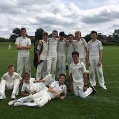 U13s v Cheam - home and away! Boys rise to new heights