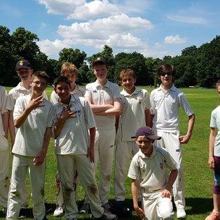 RCC U15s: Win of the century?!