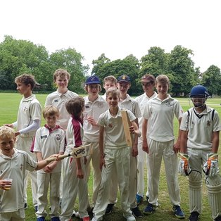 RCC U15s: Reigning bats and dogs!